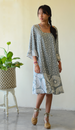 Grey Bell Dress, 3 sizes