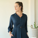 Navy Blouse Dress, 3 sizes - SALE CLOTHING & KIDS