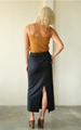 Black Basic Modal Skirt, 2 sizes