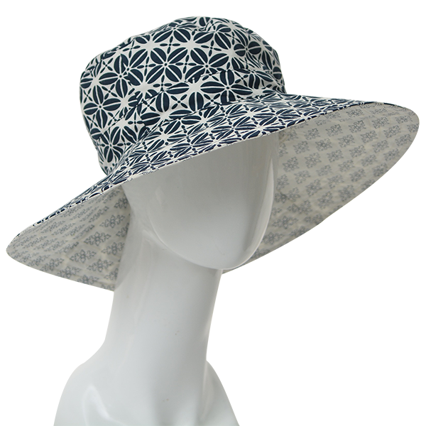 Coffee Bean Indigo Sun Hat