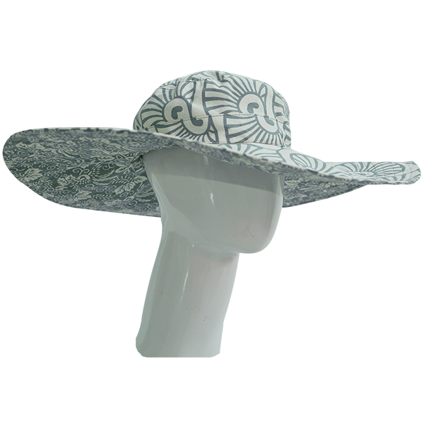 Cool Grey Sun Hat - SALE CLOTHING & KIDS