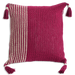 Beet Crochet Cushion Covers - Wide & Slim Stripes - SALE HOMEWARES