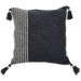 Grey Crochet Cushion Covers - Wide & Slim Stripes - SALE HOMEWARES