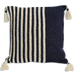 Navy Crochet Cushion Covers - Wide & Slim Stripes
