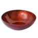 Beet Red Capiz Shell Salad Bowl, Small - SALE HOMEWARES