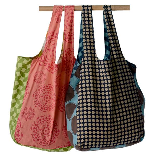 Assorted Scrappy Shopping Bags