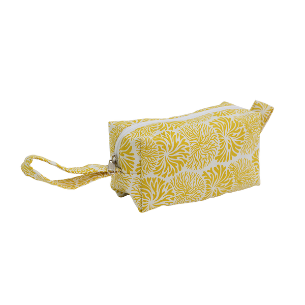 Tumbleweed Yellow Cosmetic Case, Small