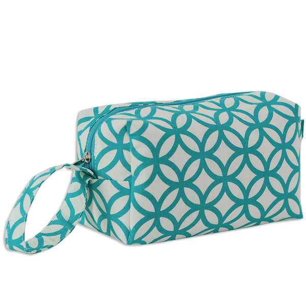 Rings Turquoise Cosmetic Case, Medium