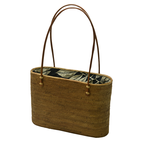 Hand Woven Atta Oval Bag, Xtra Large