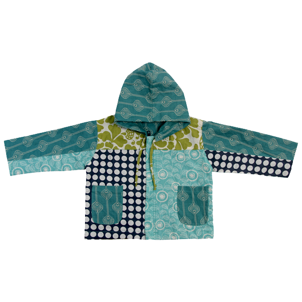 Little Scrappy Hoodie - Cool Tones - SALE CLOTHING & KIDS