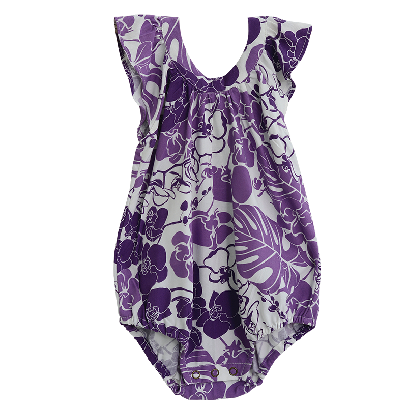 Orchid Rayon Romper in 3 sizes