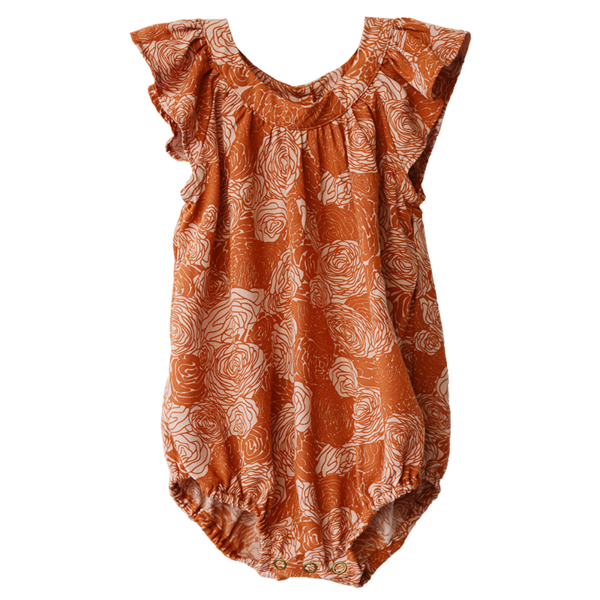 Spring Flowers Warm Rayon Romper - SALE CLOTHING & KIDS