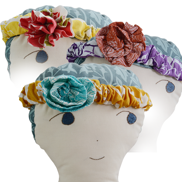 Scrappy Flower Headband