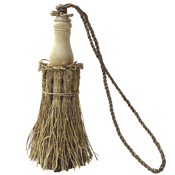 Wood Top Vetiver Tassel