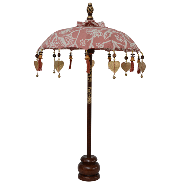 Blush Frangipani Umbrella, Small