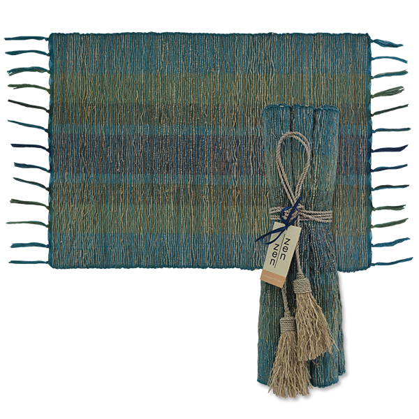 Deep Forest Vetiver Placemat, Set of 6