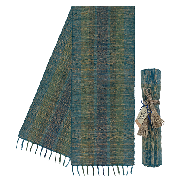 Stripes Deep Forest Vetiver Runner