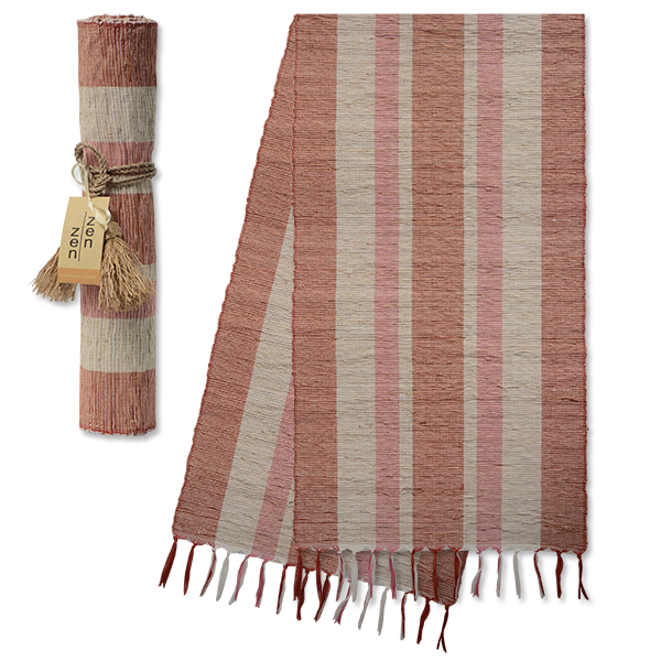 Autumn Blush Vetiver Runner