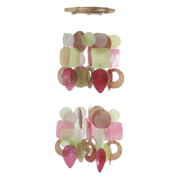 Lucy Capiz Wind Chime, Mini