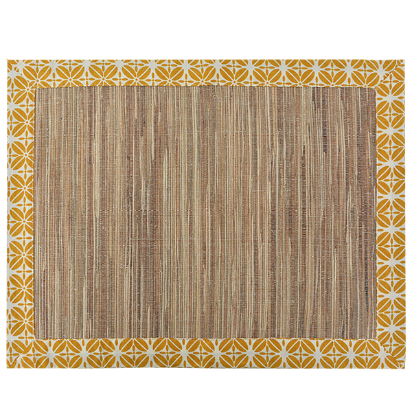 Coffee Bean Turmeric Waterlily Placemat, Set of 4