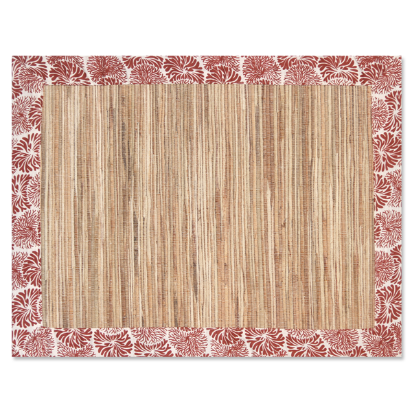 Tumbleweed Coral Waterlily Placemat, Set of 4