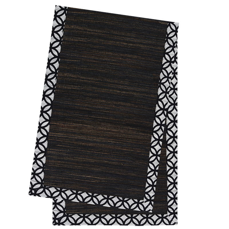 Black Rings Waterlily Runner, Short
