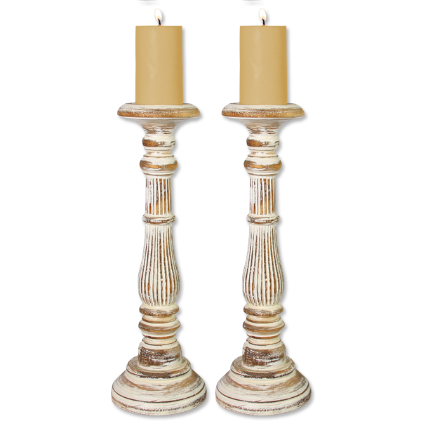 Pillar Candle Holders, Tall