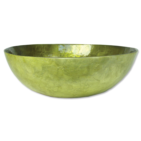 Olive Capiz Shell Salad Bowl
