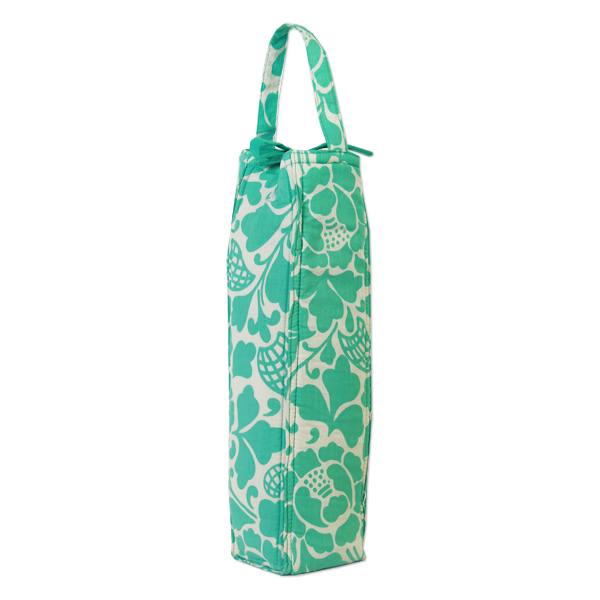 Prada Turquoise Wine Bag, Padded