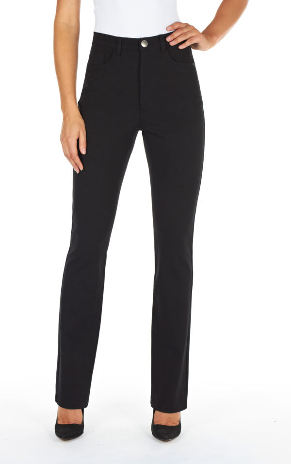 Petite suzanne straight PDR fabric pant