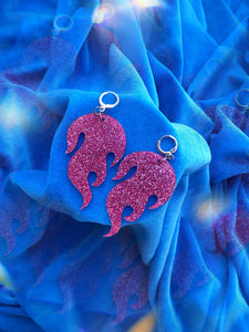 Flame Earrings!