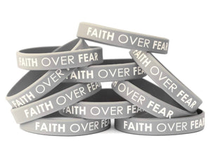 Faith Over Fear Wristband
