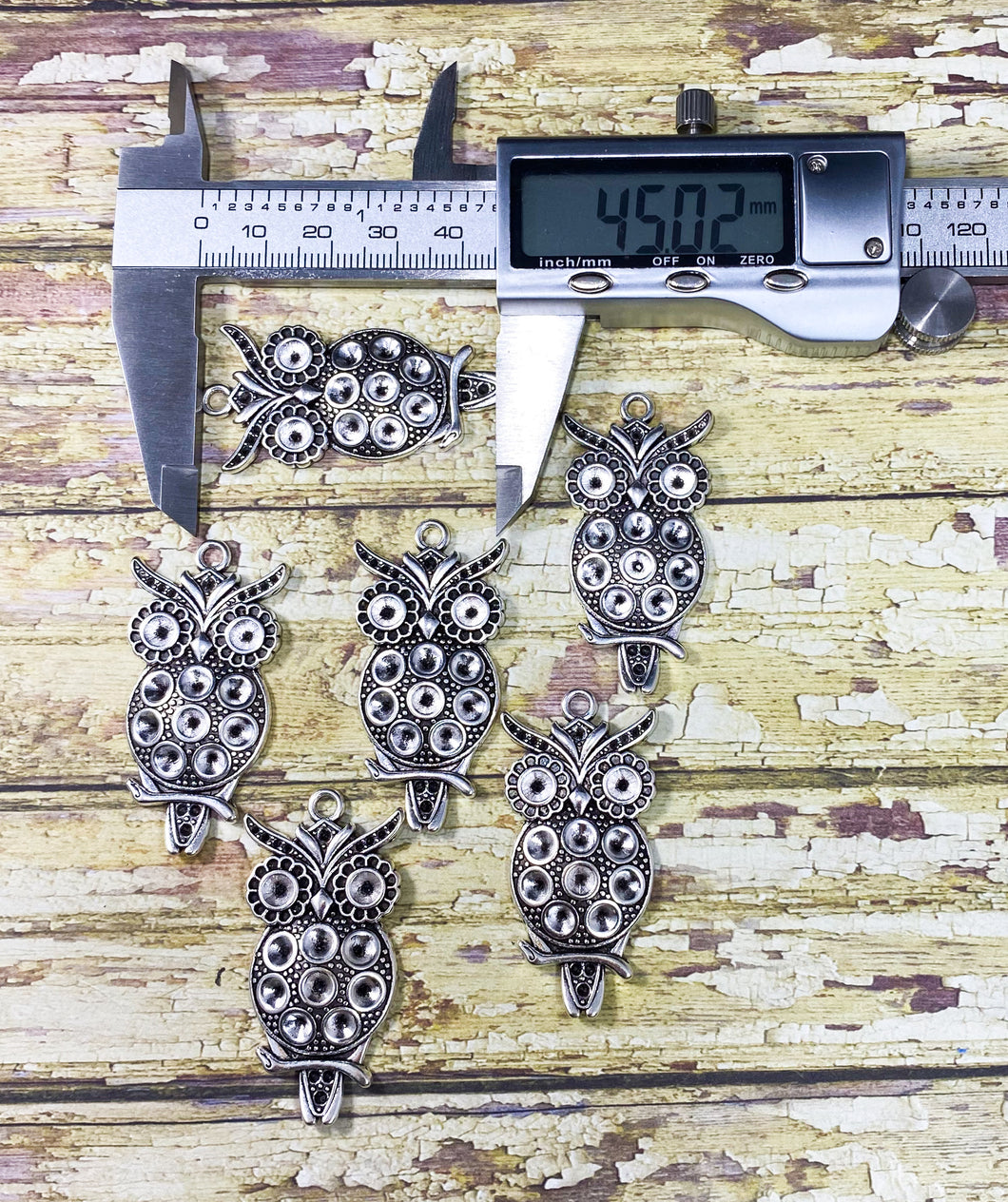 45mm Owl Charms