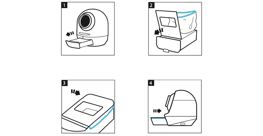 Litter-one, What's in the box. Instructions, litter-one, user manual, waste liners by hello ping, cat litter box, litter-robot, litter robot 3