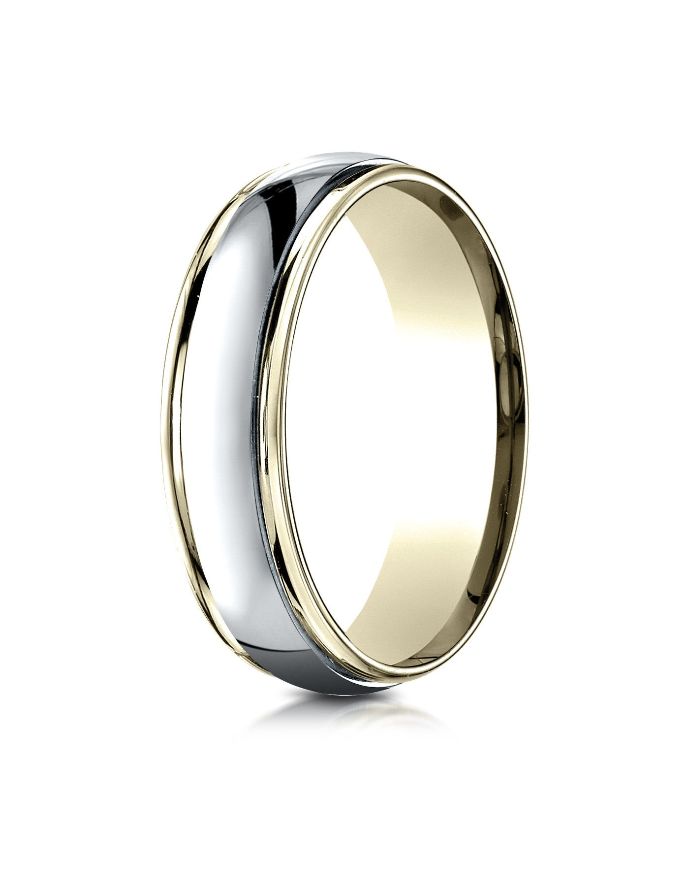two platinum band wedding bands tone
