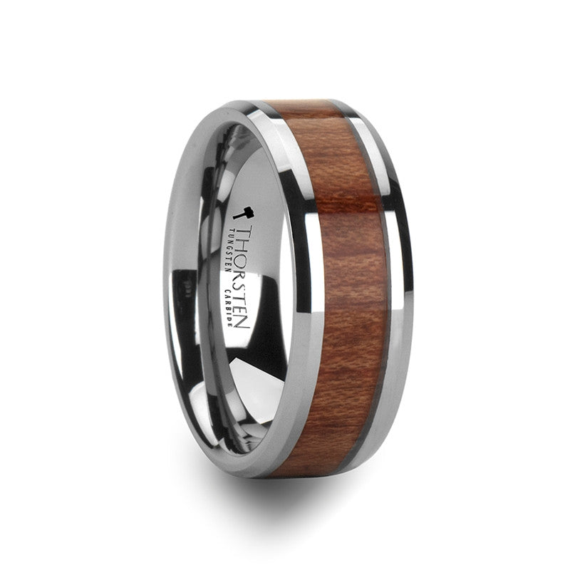 rosewood dp w band exotic rings wedding new fit comfort hard wood