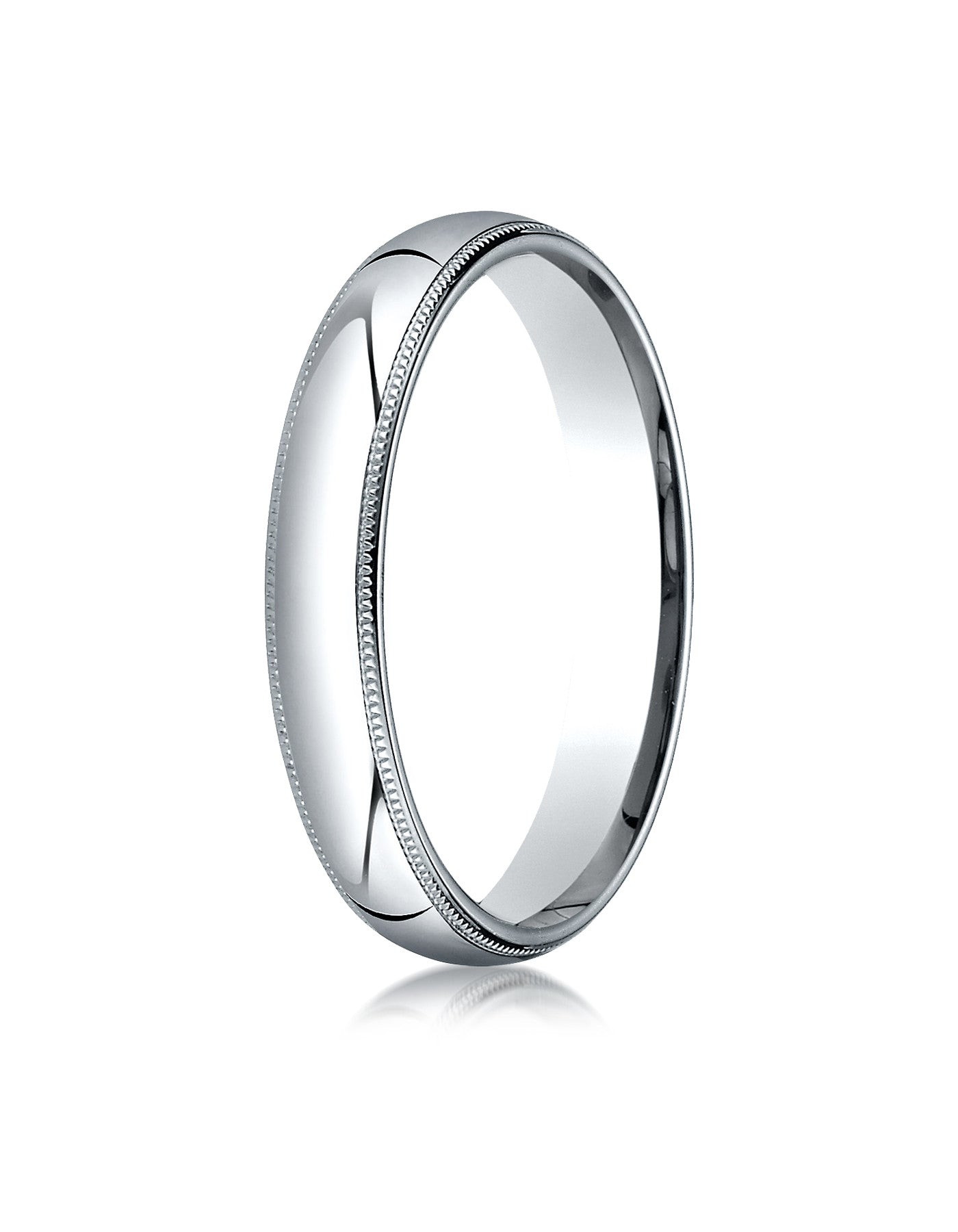 band and stone s edges platinum polished cuts finish rings center mens milgrain with wedding men