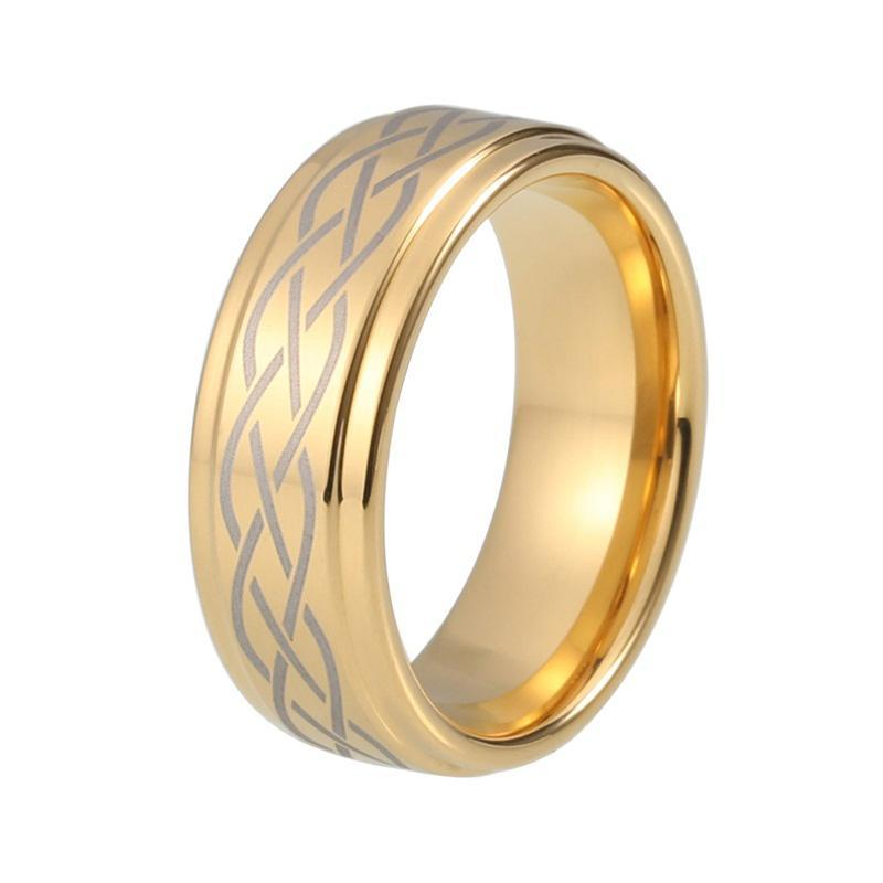 cheap online for gold jewelry rings bands carbide wedding tungsten alliance comfort product couple size fit by liu in