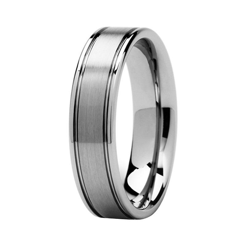 black hers with rings ring p wedding matching tungsten center for jewelry and brushed set women bands his band men couples carbide