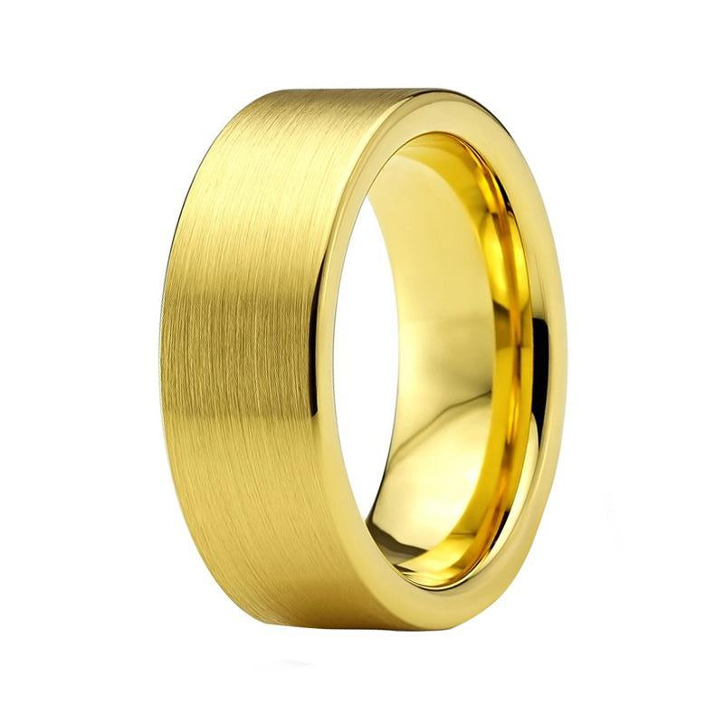 bands brushed durable fit views wedding tungsten domed carbide band comfort more ring mens