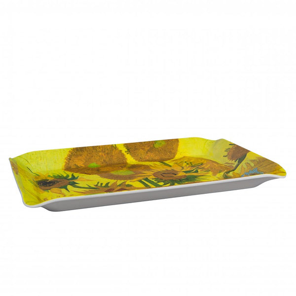 Van Gogh Sunflowers Melamine Serving Tray