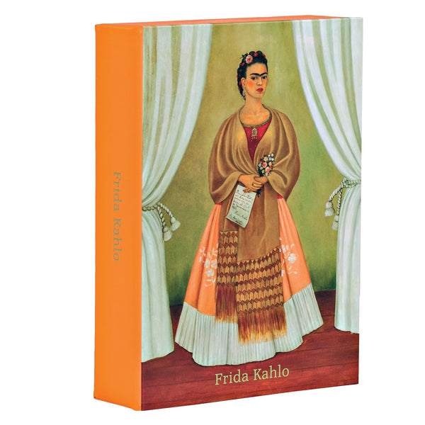 Frida Kahlo Flip Top Notecard Box