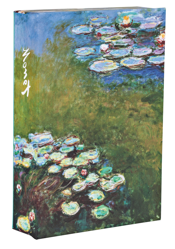 Claude Monet Flip Top Notecard Box