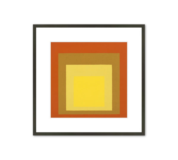 "Josef Albers ""Homage to the Square"" Framed Print"