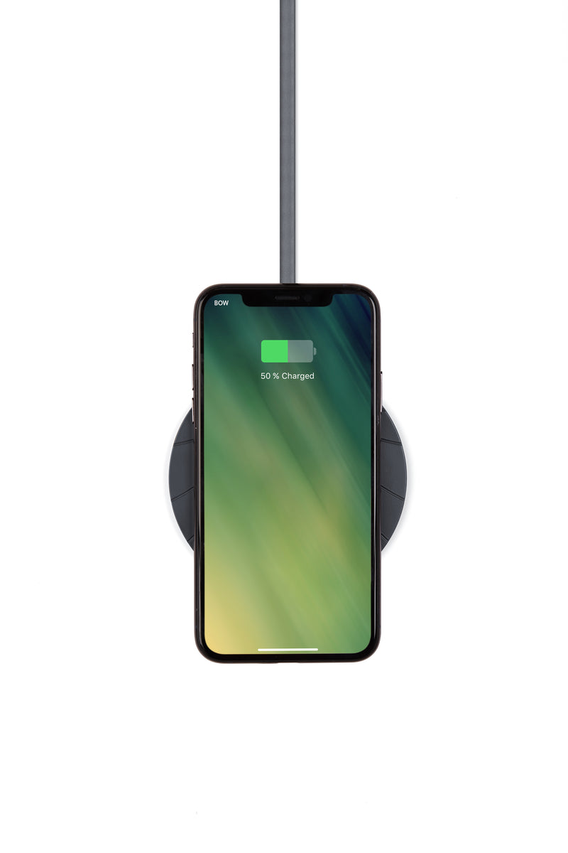 Bali Extra - Slim Wireless Charger Black