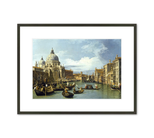 "Canaletto ""The Entrance to the Grand Canal, Venice"" Framed Print"