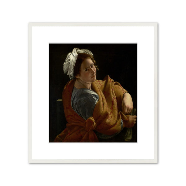 "Orazio Gentileschi ""Portrait of a Young Woman as a Sibyl"" Framed Print"