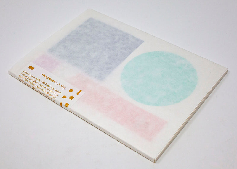 A5 Graphics Square Circle Notebook