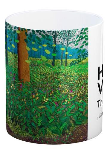 Mug - David Hockney: Under the Trees, Bigger