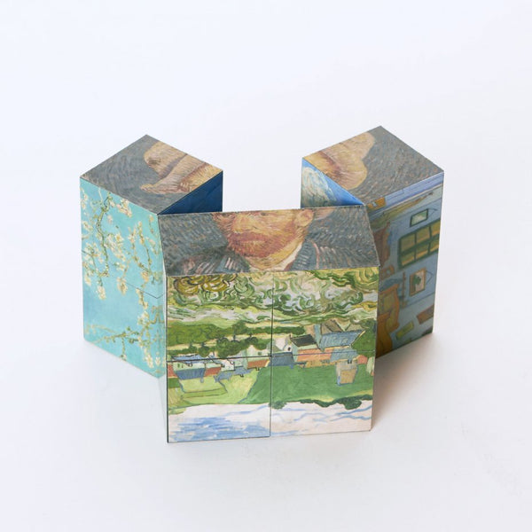 Van Gogh Magic cube Paintings